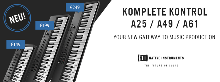 NATIVE INSTRUMENTS Komplete Kontrol A Series Keyboards